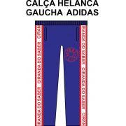 Calça Helanca Gaucha Adidas Ciranda do Saber