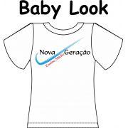 Camiseta Baby Look Nova Geração