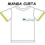 Camiseta Manga Curta Alétea