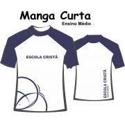 Camiseta Manga Curta Ensino Médio Cristã Batista