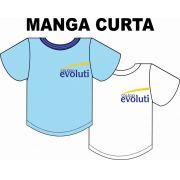 Camiseta Manga Curta Evoluti