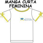 Camiseta Manga Curta Feminina Alétea