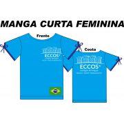 Camiseta Manga Curta Feminina Eccos