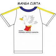 Camiseta Manga Curta Fernão Capelo Gaivota
