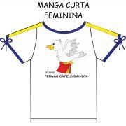 Camiseta Manga Curta Feminina Fernão Capelo Gaivota