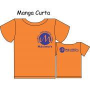 Camiseta Manga Curta Ed. Infantil ao Fundamental Máximus