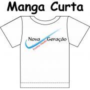 Camiseta Manga Curta Nova Geração