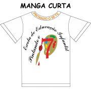 Camiseta Manga Curta Pintando o 7