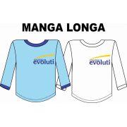 Camiseta Manga Longa Evoluti