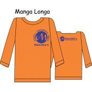 Camiseta Manga Longa Ed. Infantil ao Fundamental Máximus