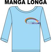 Camiseta Manga Longa Prosseguir