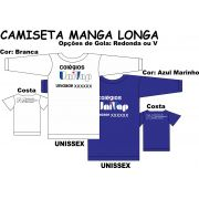 Camiseta Manga Longa Univap 6 ao Técnico