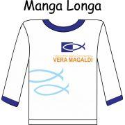 Camiseta Manga Longa Vera Magaldi