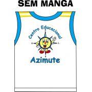 Camiseta Sem Manga Azimute