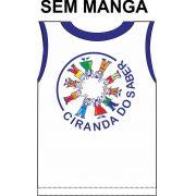 Camiseta Sem Manga Ciranda do Saber