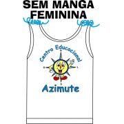 Camiseta Sem Manga Feminina Azimute