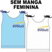 Camiseta Sem Manga Feminina Evoluti
