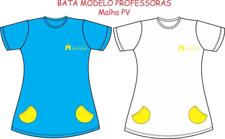 Bata Manga Curta Alétea - Professoras