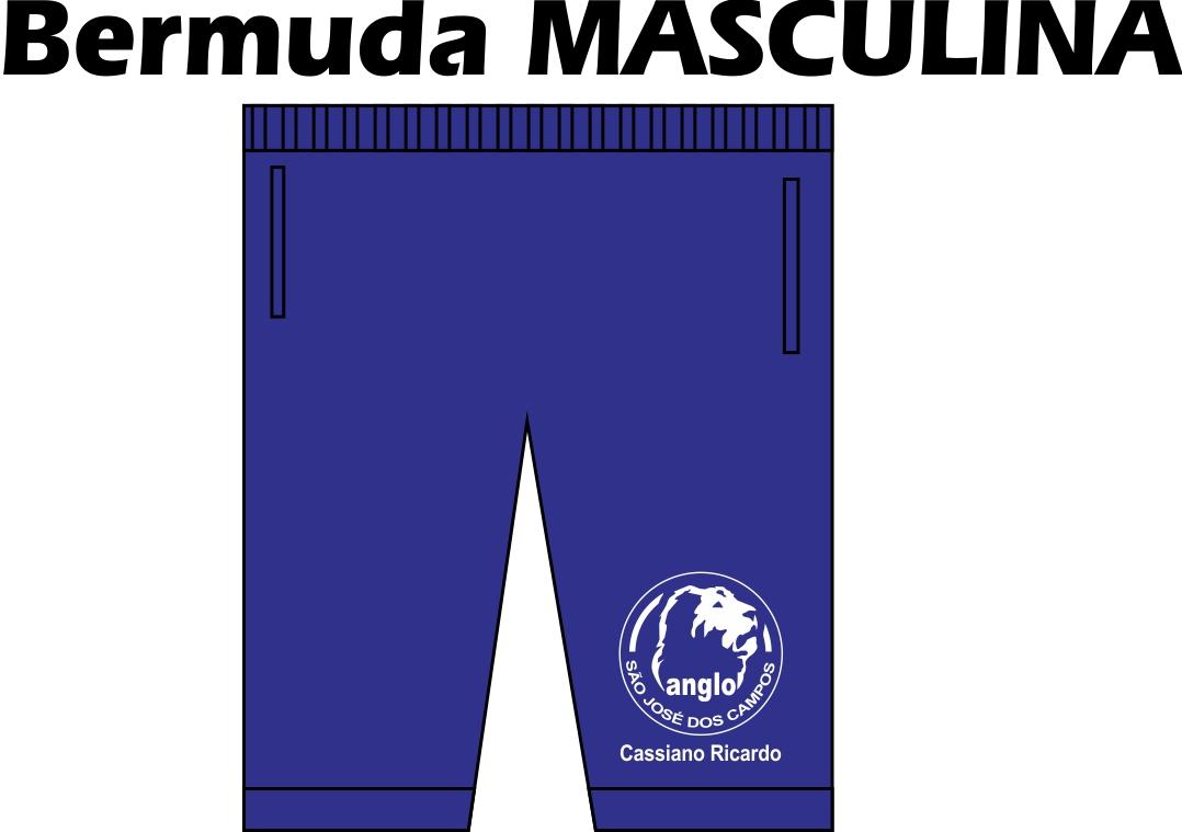 Bermuda Masculina Anglo SJC