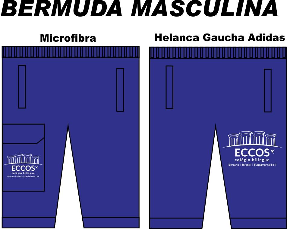 Bermuda Masculina Eccos