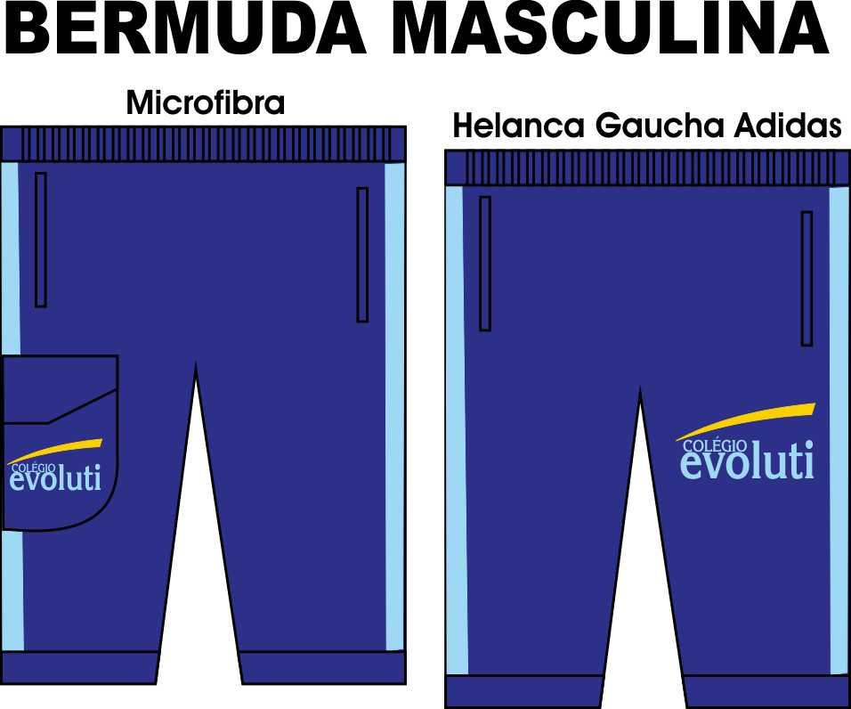 Bermuda Masculina Evoluti