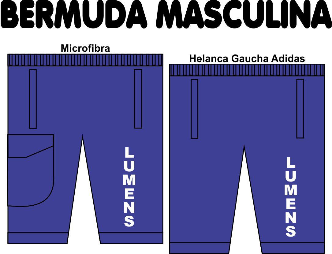 Bermuda Masculina Lumens