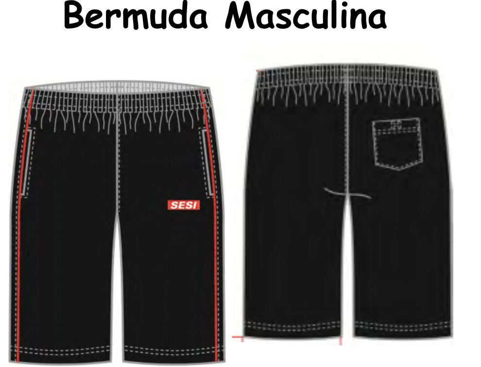 Bermuda Masculina Sesi