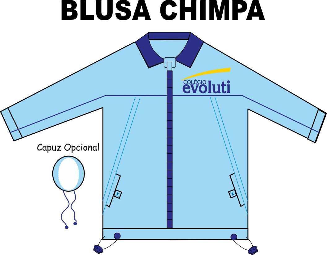 Blusa Chimpa Evoluti