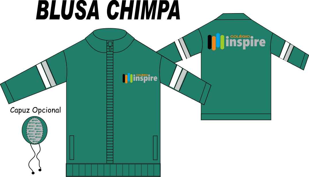 Blusa Chimpa Inspire