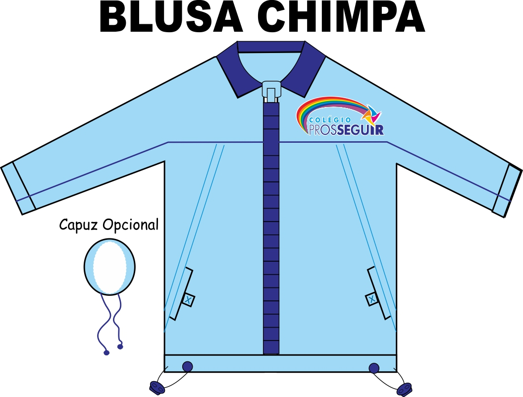 Blusa Chimpa Prosseguir