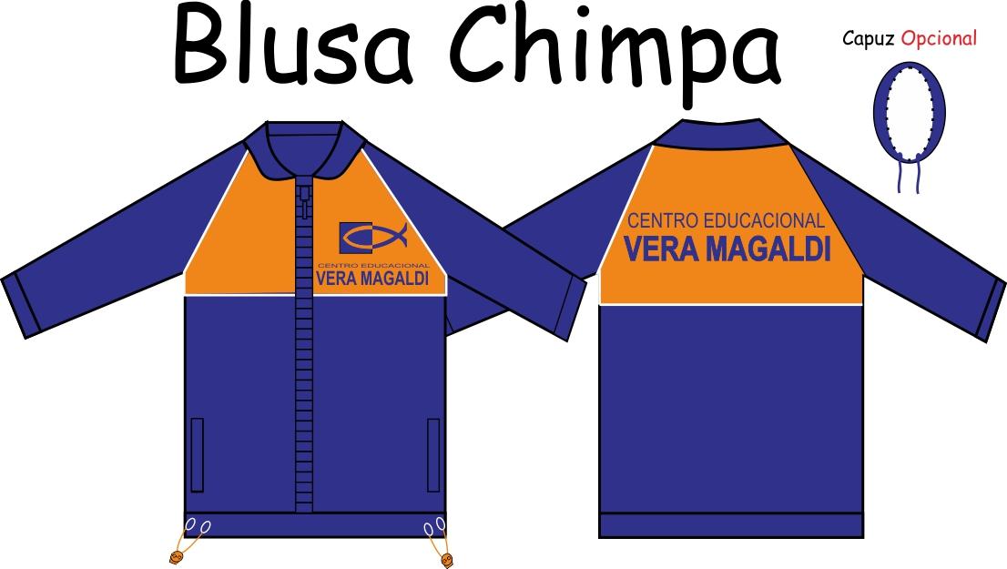 Blusa Chimpa Vera Magaldi
