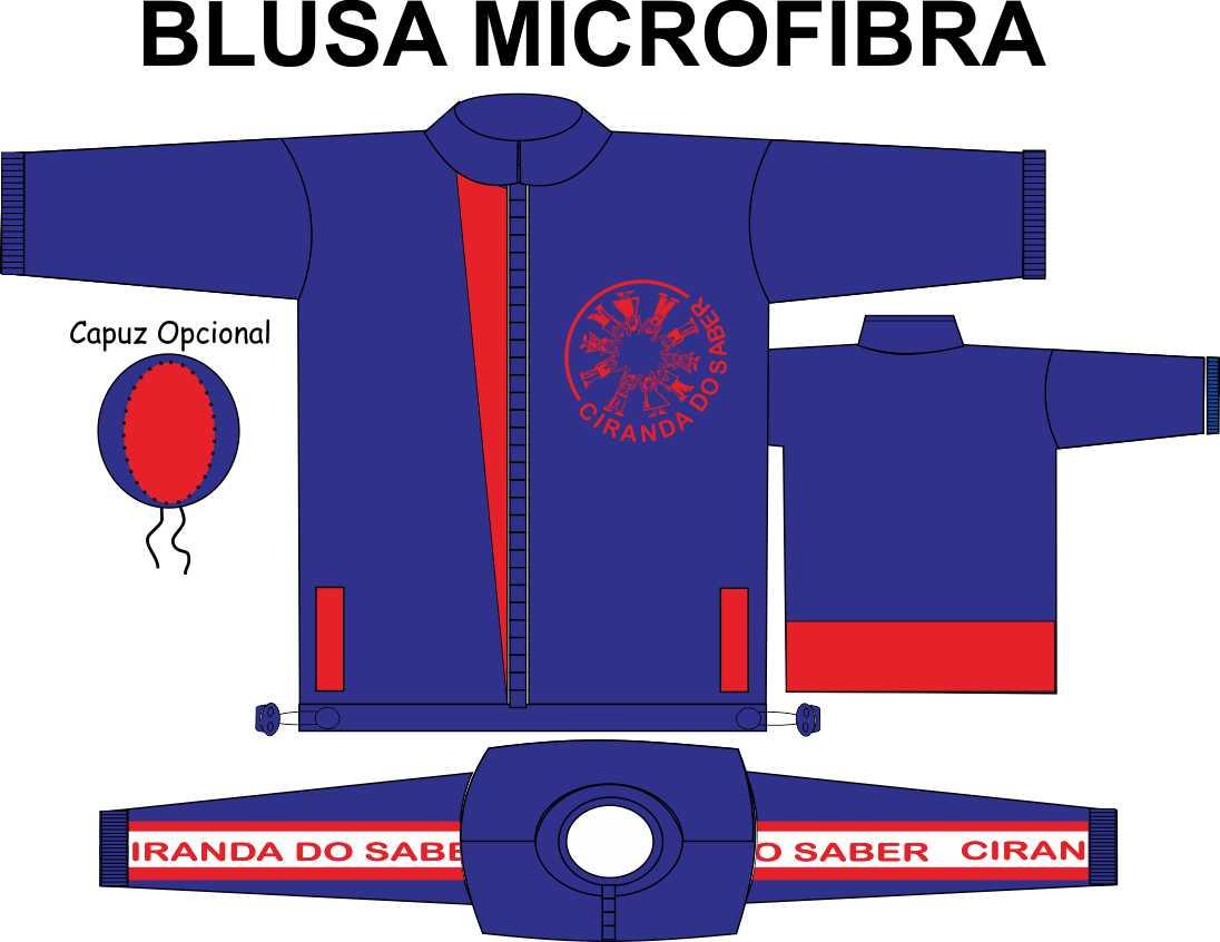 Blusa Microfibra Ciranda do Saber