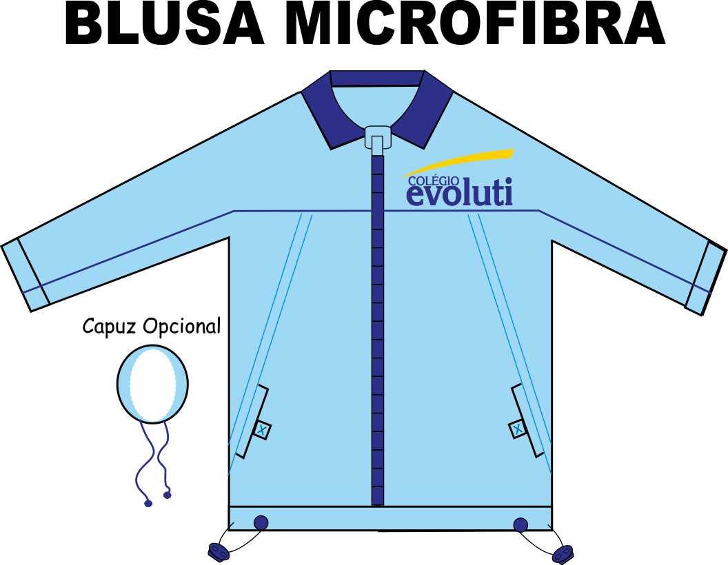 Blusa Microfibra Evoluti