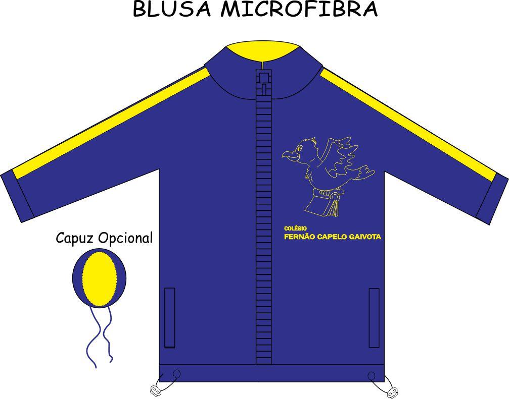 Blusa Microfibra Fernão Capelo Gaivota