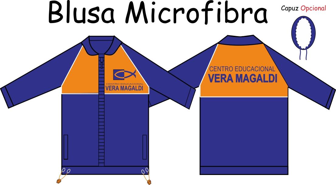 Blusa Microfibra Vera Magaldi