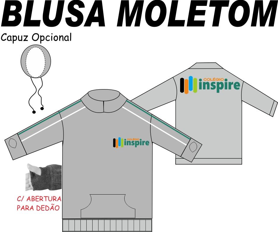 Blusa Moletom Inspire