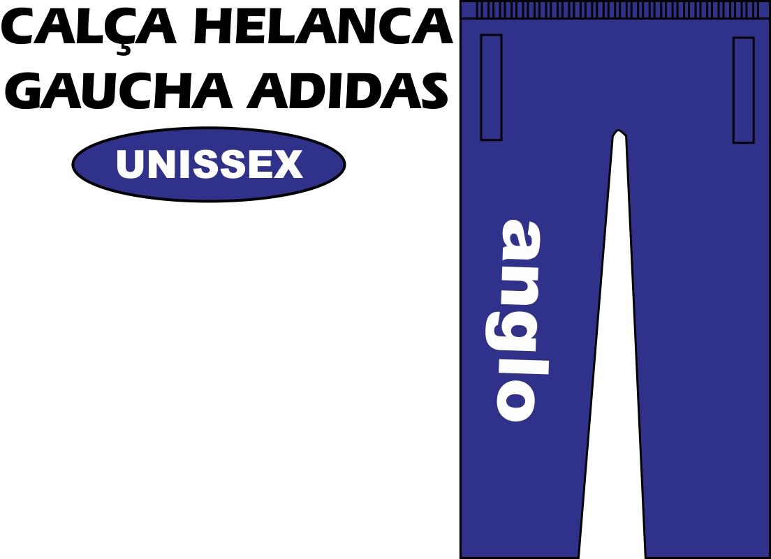 Calça Helanca Gaucha Adidas Anglo SJC