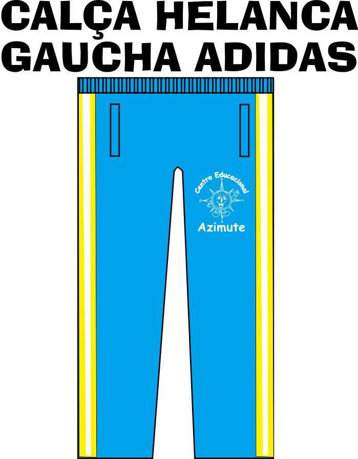Calça Helanca Gaucha Adidas Azimute