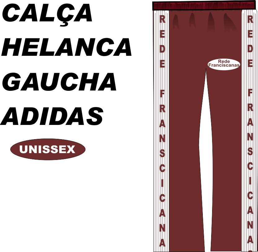 Calça Helanca Gaucha Adidas Franciscano NSA