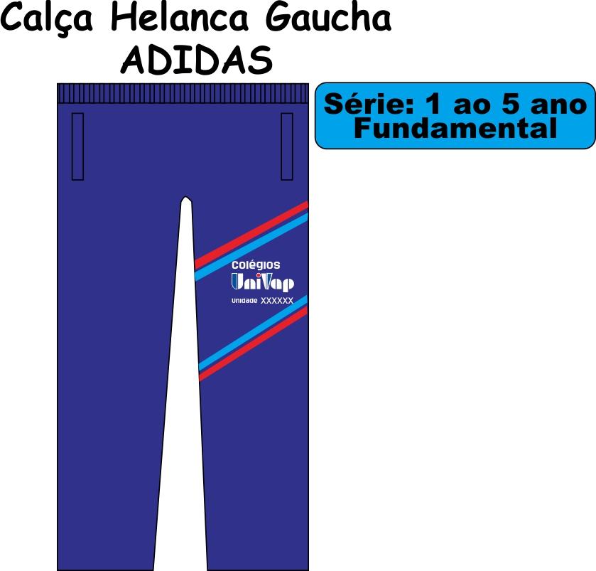 Calça Helanca Gaucha Adidas Univap 1/5