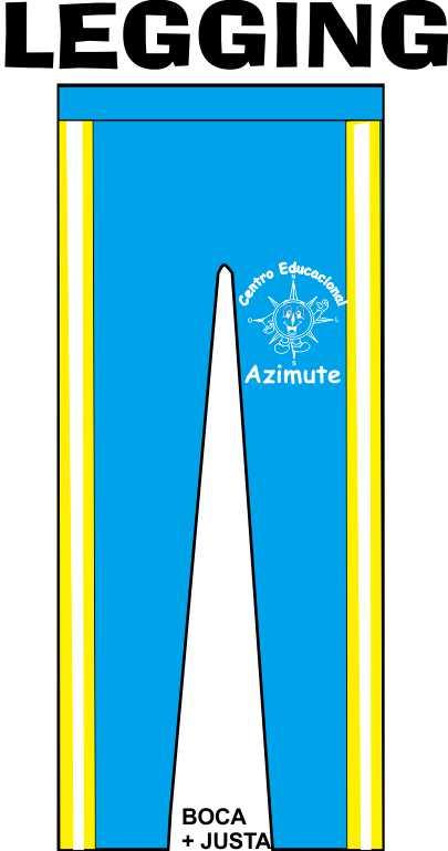Calça Legging Azimute