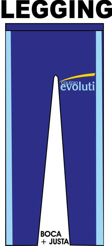 Calça Legging Evoluti