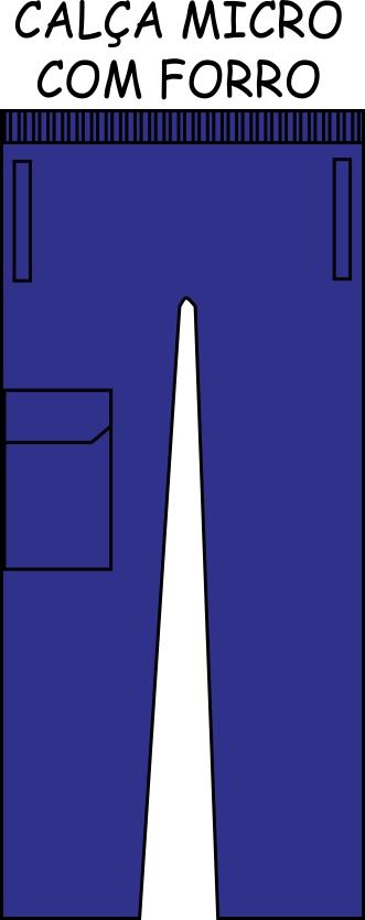 Calça Microfibra C/ FORRO Liso
