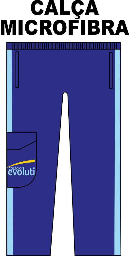 Calça Microfibra Evoluti