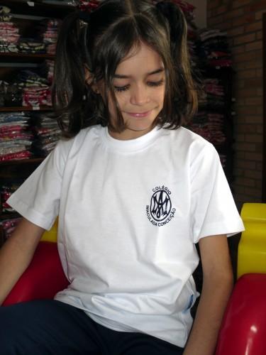 Camiseta Manga Curta Branca Rede Concepcionista