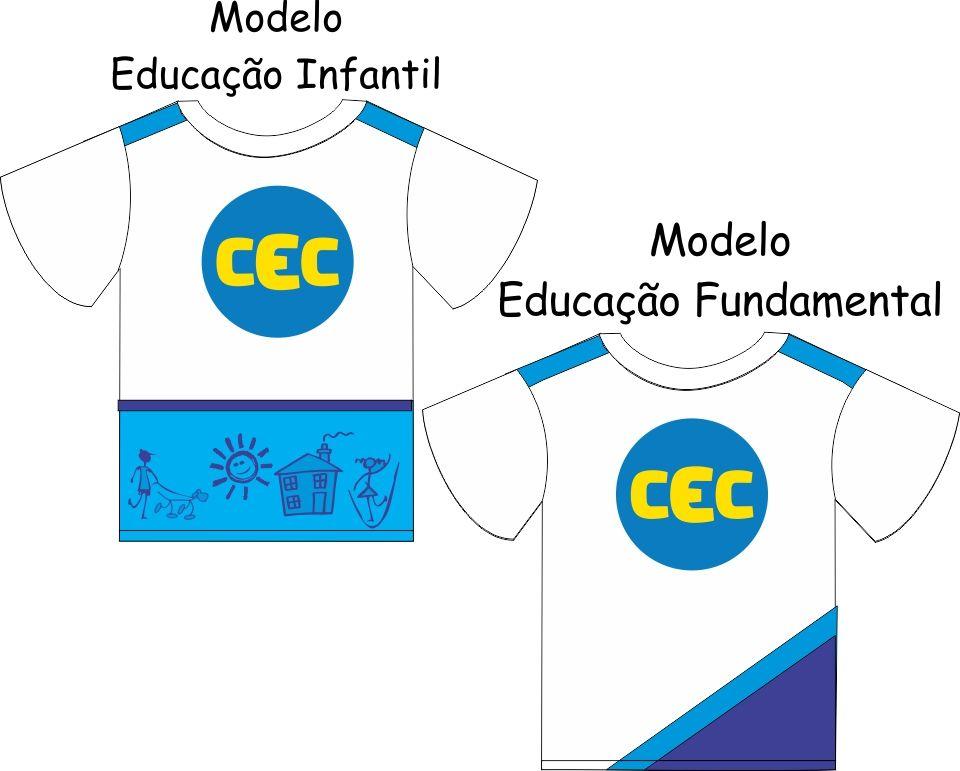 Camiseta Manga Curta CEC   Malha 100% Algodão