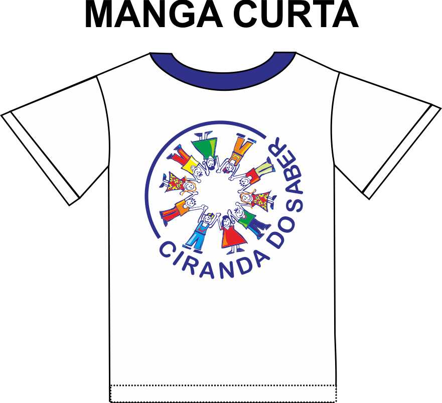 Camiseta Manga Curta Ciranda do Saber