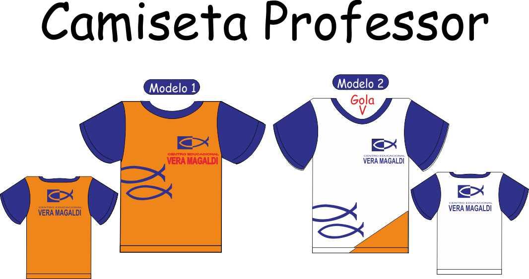 Camiseta Manga Curta Vera Magaldi (PROFESSOR)