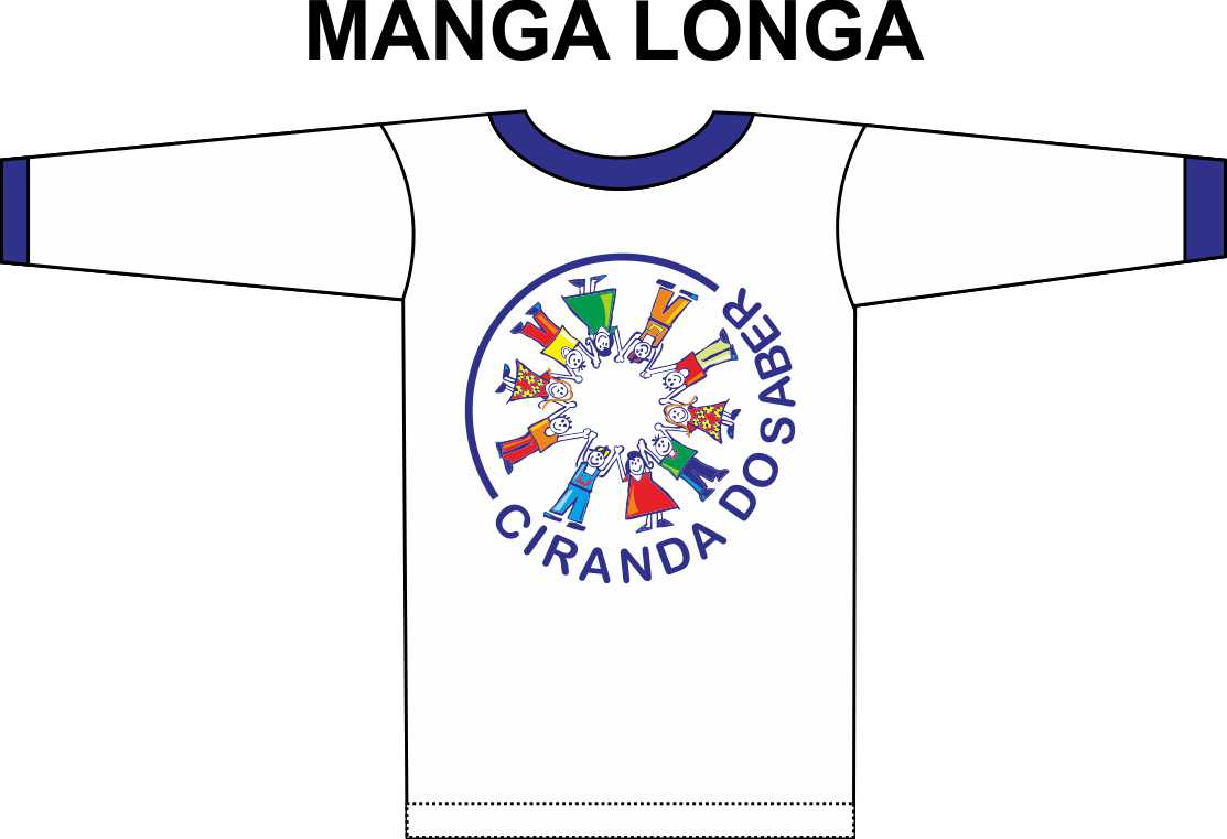 Camiseta Manga Longa Ciranda do Saber