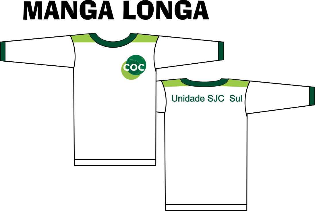 Camiseta Manga Longa COC - Zona Sul